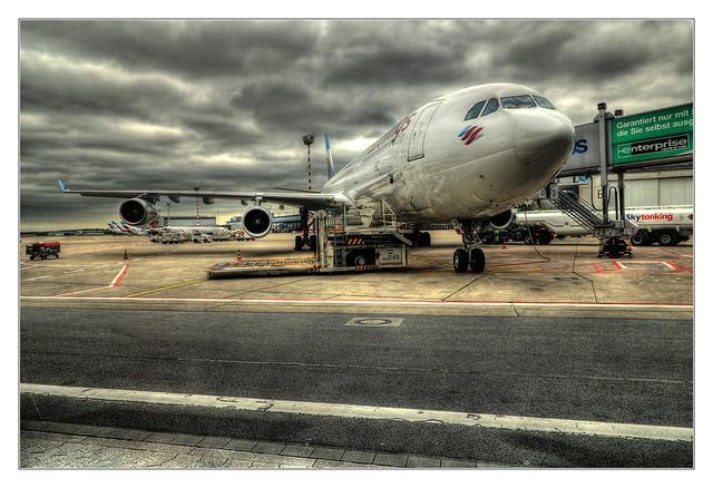 Düsseldorf - Eurowings Airbus A340 01