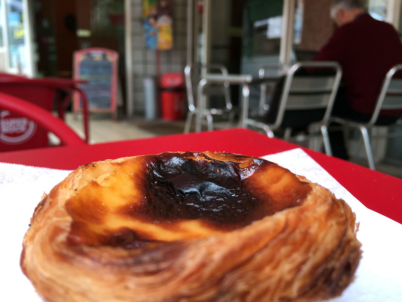 Pastel de nata from Pasteleria Lirio do Campo