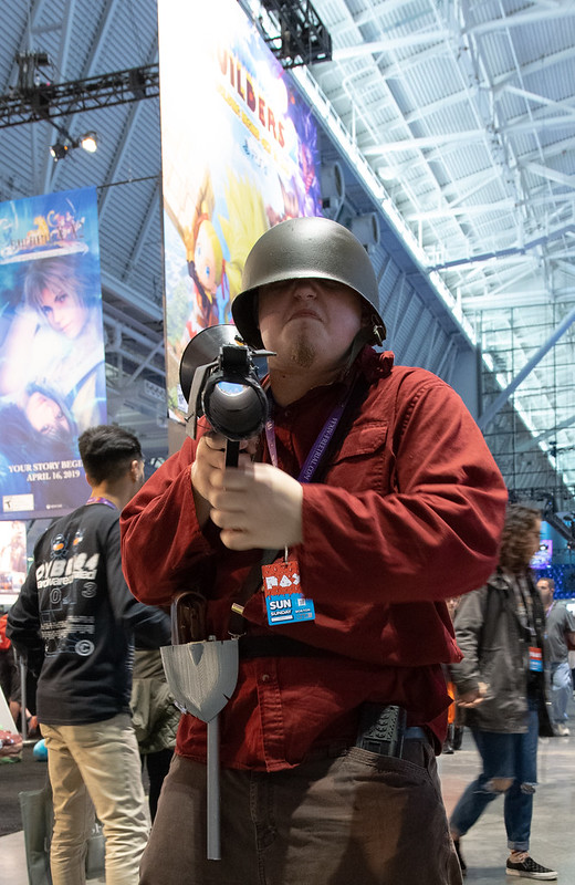 PAXEast 2019 Cosplayer - Team Fortress