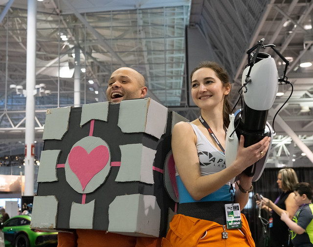 PAXEast 2019 Cosplayers - Portal