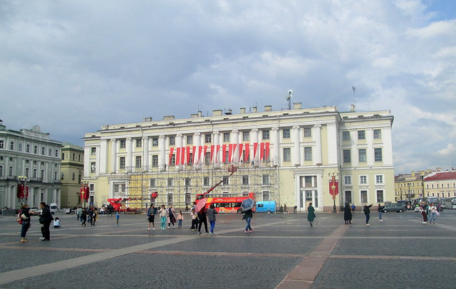 Palace Square  , banners
