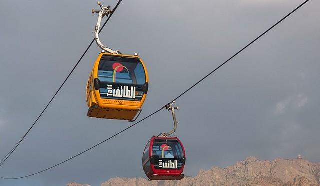 5162 How to take Teleferic Taif cable car 01