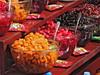 Acid fruits healthy street snack in Tehran, Iran by German Vogel