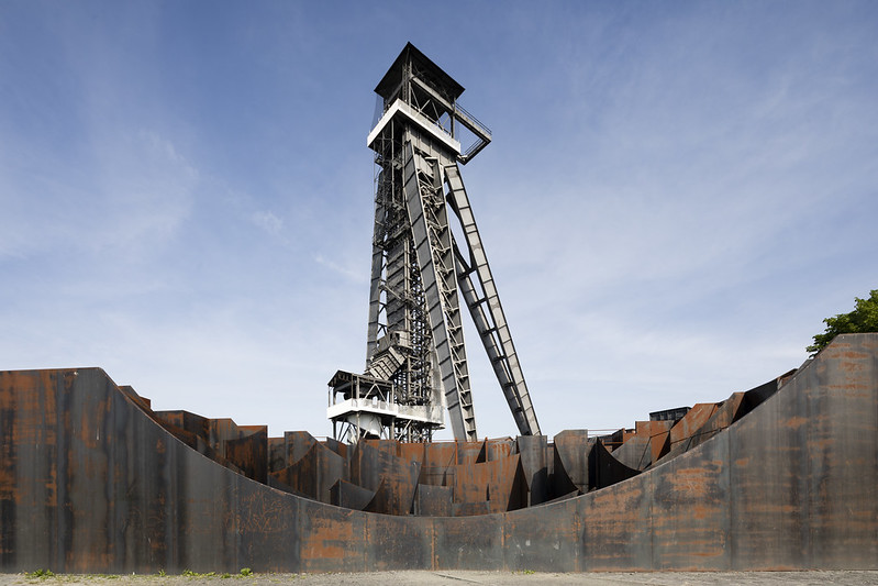 C-Mine Winding Tower and Labyrinth