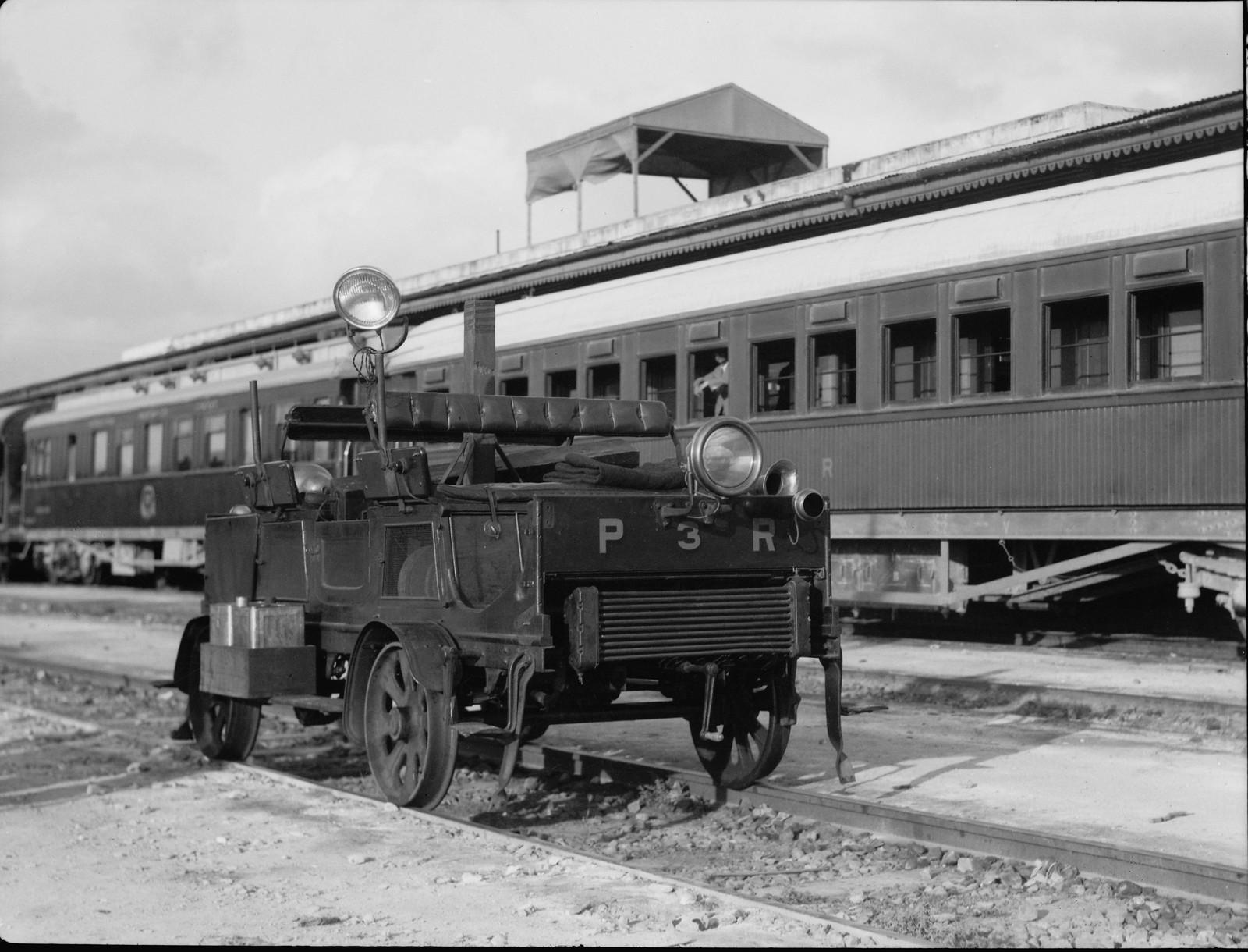 Бронемашина на Палестинской железной дороге