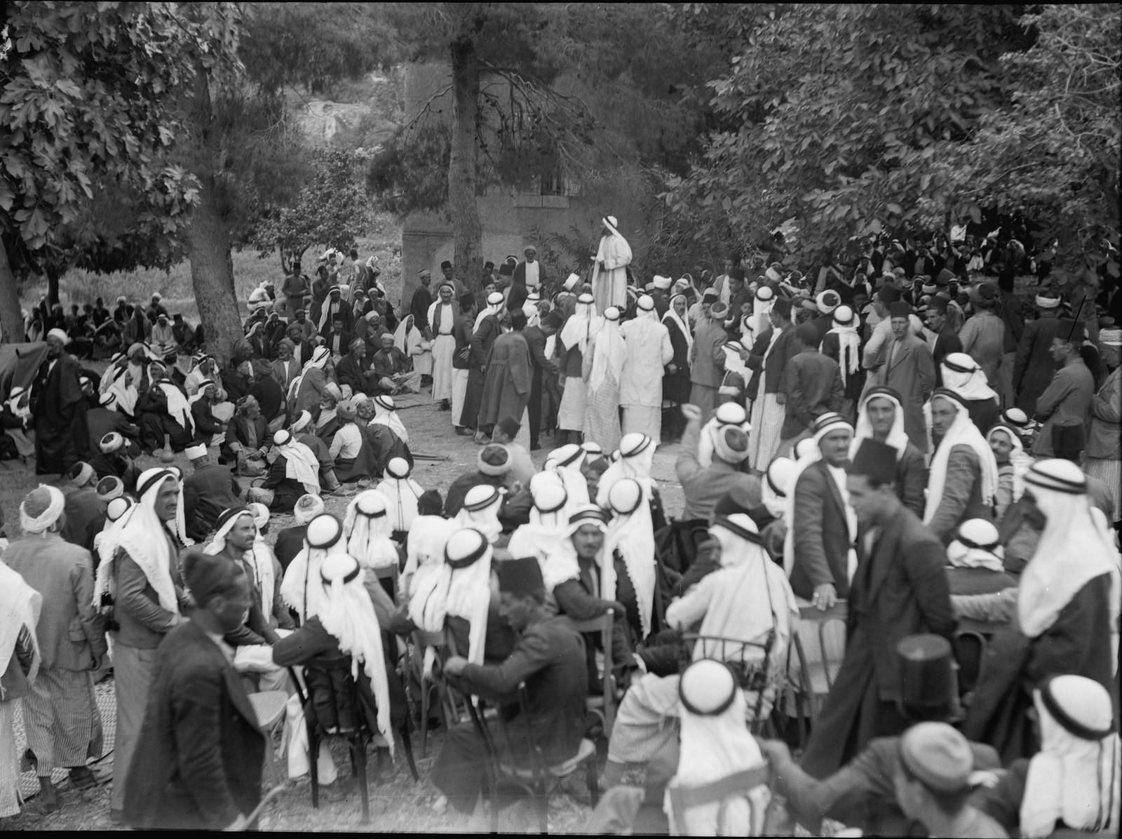 Арабская сходка в Абу Гош