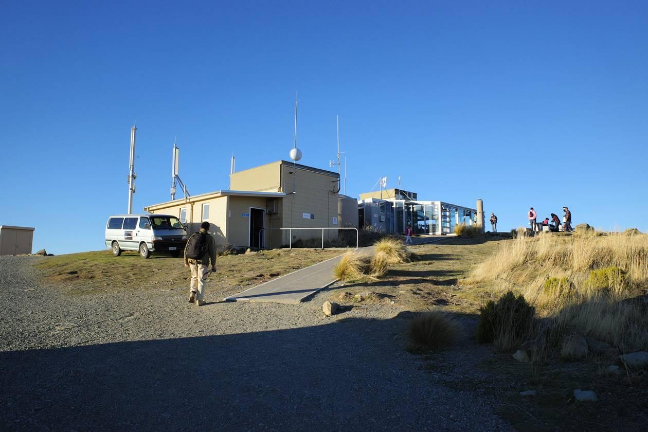マウントジョン山頂の天体観測所