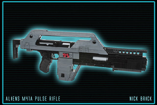 M41A Pulse Rifle - Aliens | by Nick Brick