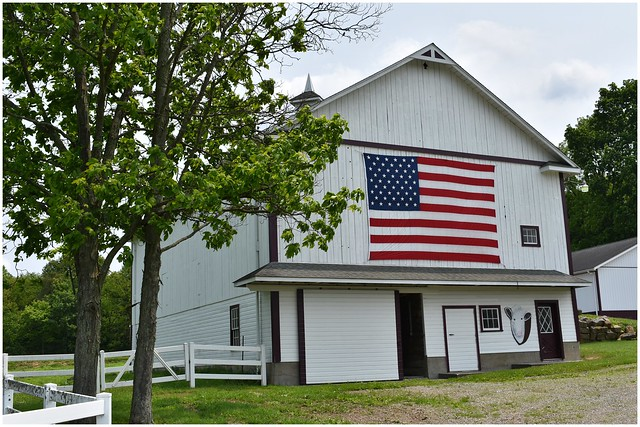 Patriotism @ Pennsylvania's Farm Land