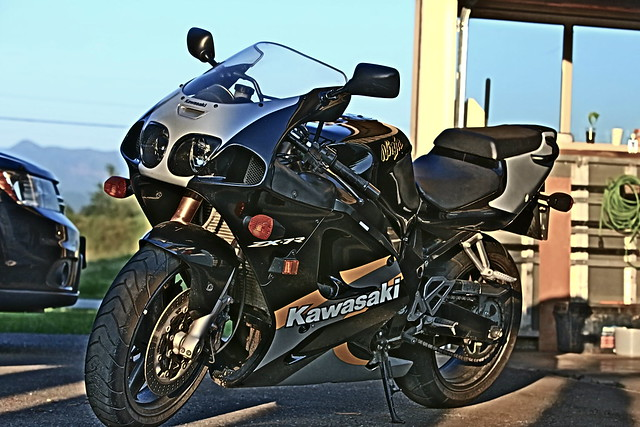 My 2000 Kawasaki ZX7R