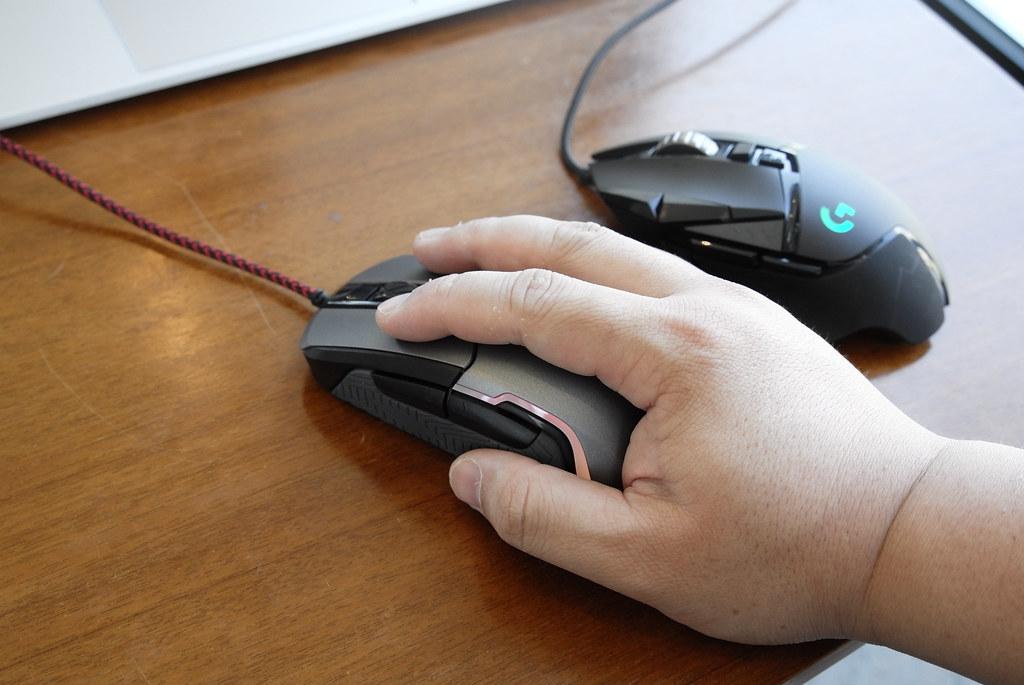 Logitech vs Monstar Gaming Mouse