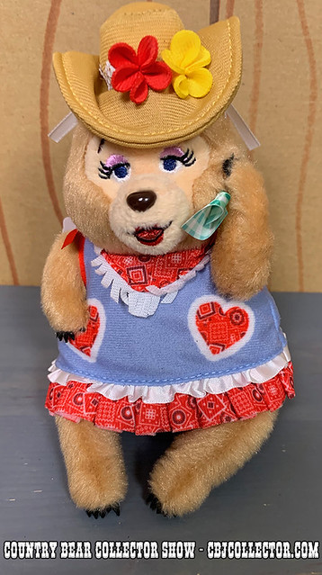 2019 Tokyo Disneyland Vacation Jamboree Trixie Plush - Country Bear Collector Show #205