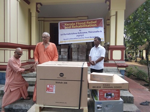 tiruvalla floodrelief ramakrishnamath reliefwork rehabilitation