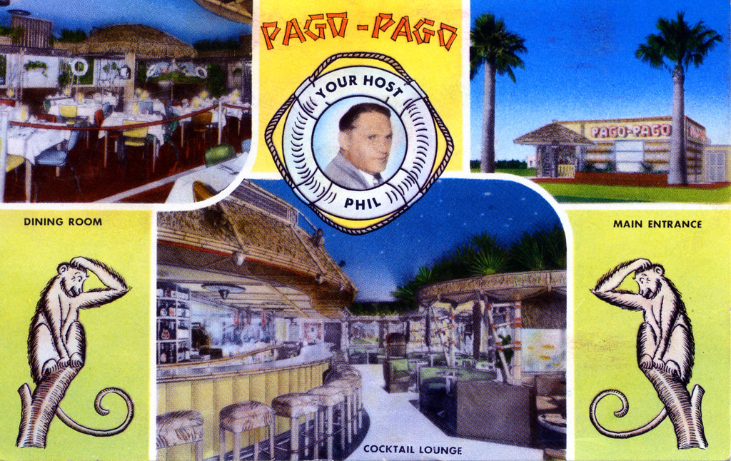 Phil's Pago-Pago Lounge and Dining Room Tucson AZ