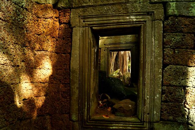 Windows Khmer Ruines Empire Cambodia