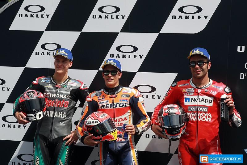 Top 3 kwalificatie MotoGP