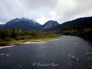 Three Crowns and river Dunajec