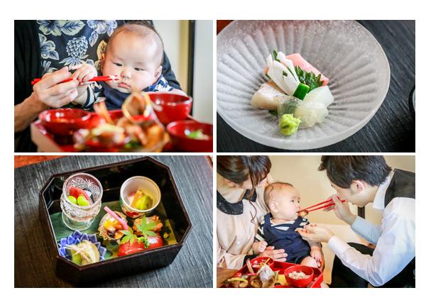 櫓心祜(ろここ)でお食い初め 懐石料理 名古屋市天白区 100日祝い