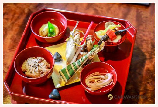 お食い初め膳(料理) 櫓心祜(ろここ) 名古屋市天白区 5月 ちまき