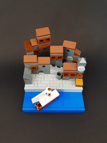 Hanseatic Town MOC. From above.