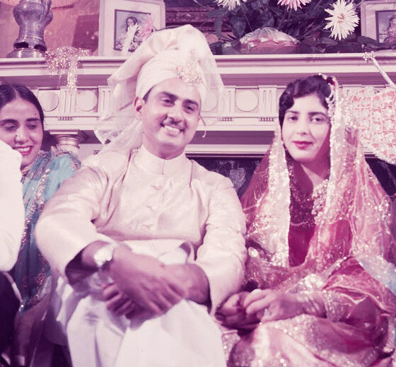 Syed Babar Ali is married at the Pakistan Embassy Washingt