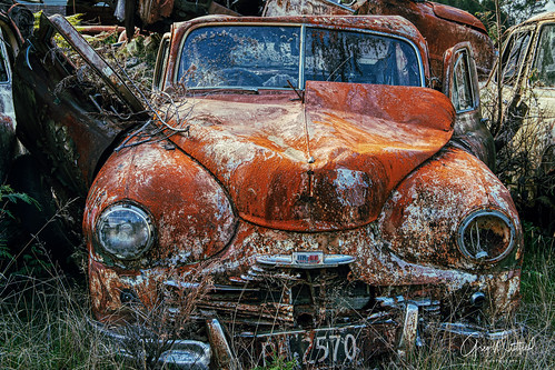 Rusting Away | by GregWhitfield