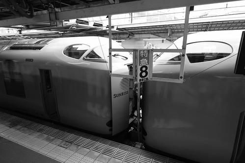 02-06-2019 'Sunrise Izumo' at Okayama Station (1)