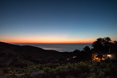 Ikaria/Ικαρία - Evening sky over the north coast