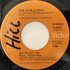THE NITE-LITERS:AFRO-STRUT(LABEL SIDE-B)