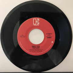 DEBRA LAWS:BE YOURSELF(RECORD SIDE-B)