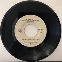 FUNKADELIC:(NOT JUST)KNEE DEEP(RECORD SIDE-A)