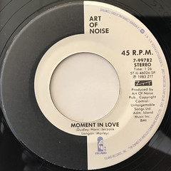 ART OF NOISE:BEAT BOX(LABEL SIDE-B)