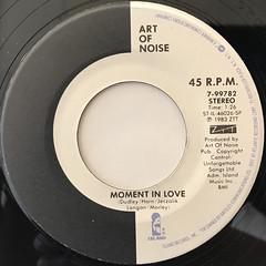 ART OF NOISE:BEAT BOX(LABEL SIDE-B)