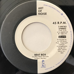 ART OF NOISE:BEAT BOX(LABEL SIDE-A)