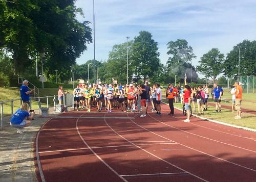 start marathon onderdeel van de Brabantse Wal Marathon