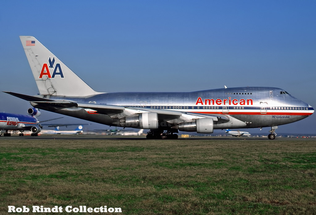American Airlines B747SP-31 N601AA
