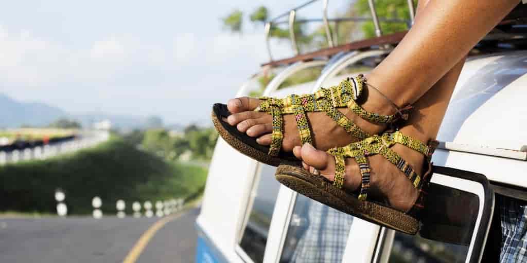 générateur-énergie-sandales-usage-pratique