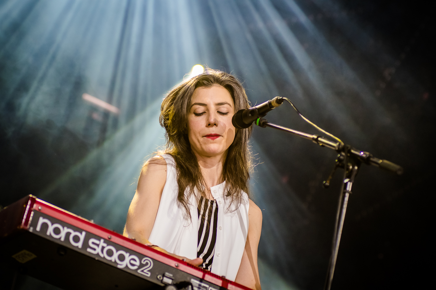 Julia Holter @ Best Kept Secret 2019 (© Timmy Haubrechts)