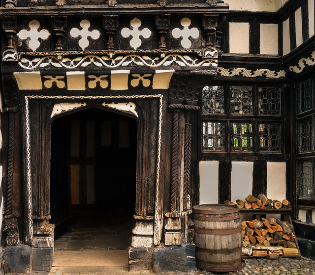 Moreton Hall doorway Explored