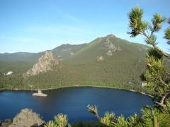 Вид со скалы Болектау