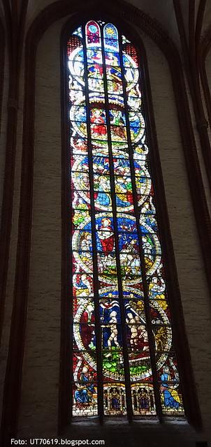 St Nikolaus Glasmalerei