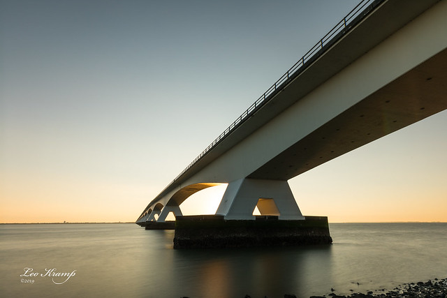 Zeelandbrug at sunrise #4