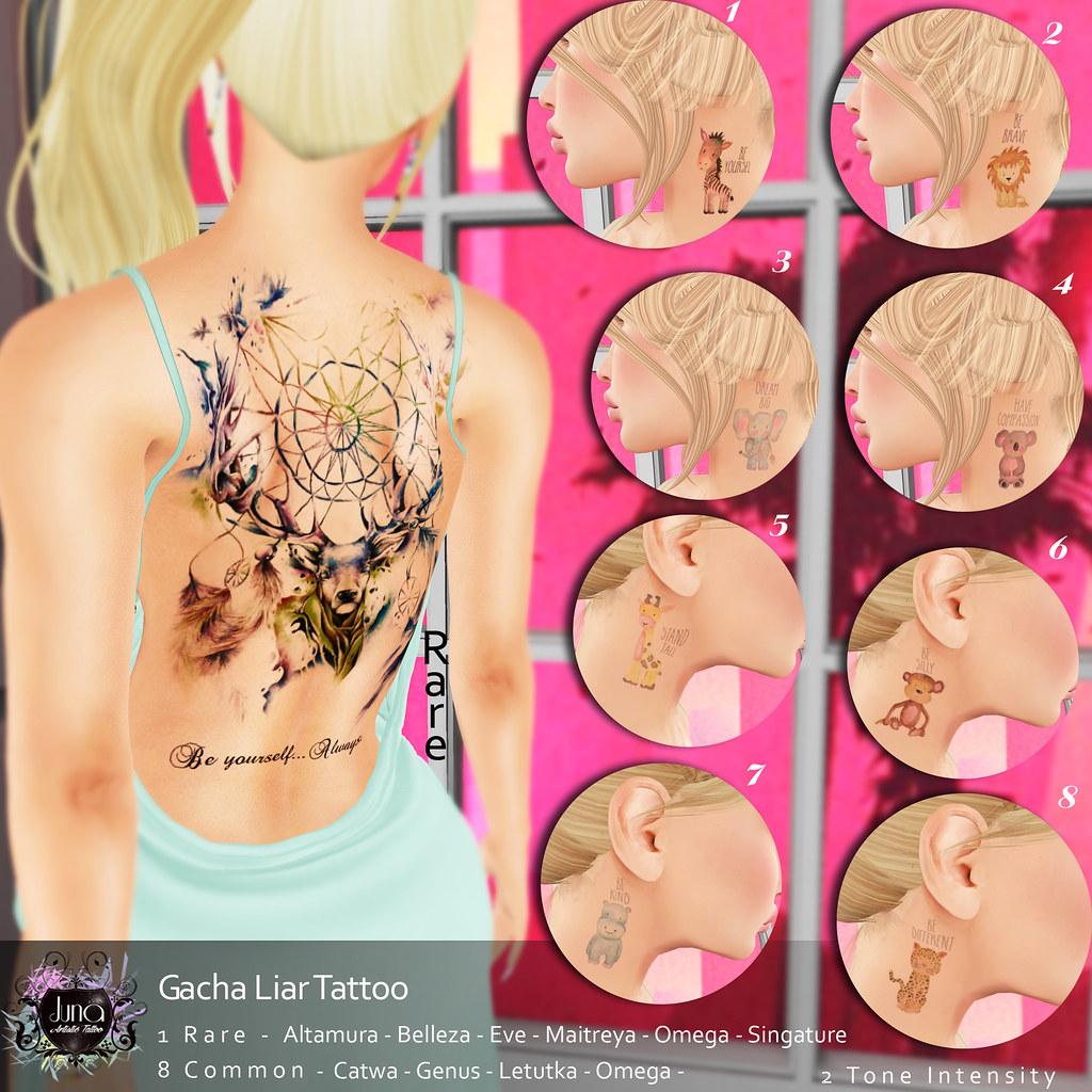 Juna Gacha Liar tattoo - TeleportHub.com Live!