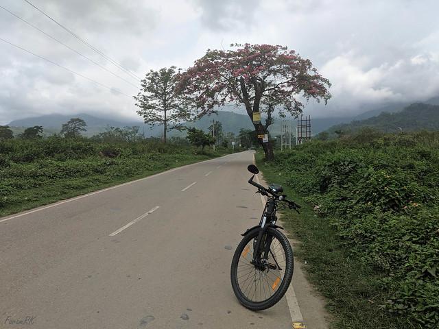Start of Rohini road towards Kurseong