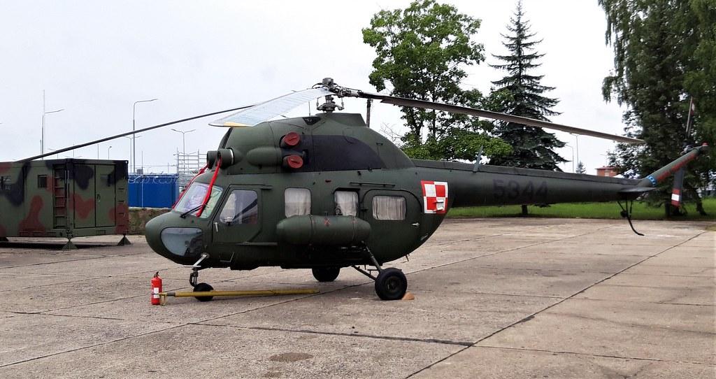 Mi-2R 5344 c/n 565344127 41BLSz Polish-Air Force/PWL. Radom, 26 August 2018.