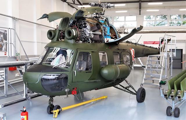 Mi-2P 4713 c/n 534713036 41BLSz Polish-Air Force/PWL. Radom, 26 August 2018.