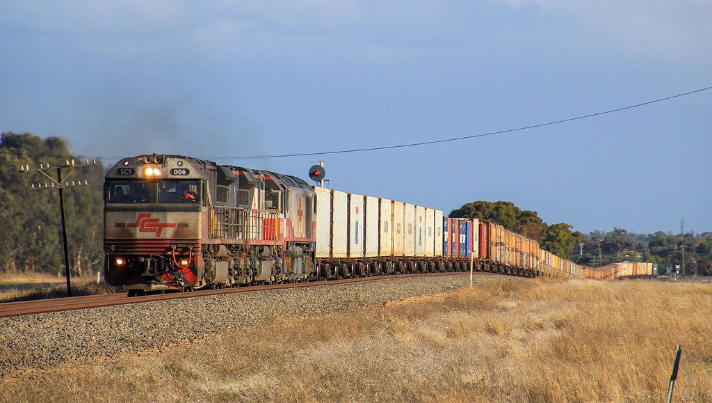 SCT006 SCT009 and CSR011 notch up on the up side of Horsham on PM9 by bukk05