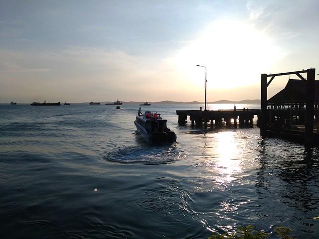 Pelabuhan Bulang Linggi, Tanjung Uban Foto Asli
