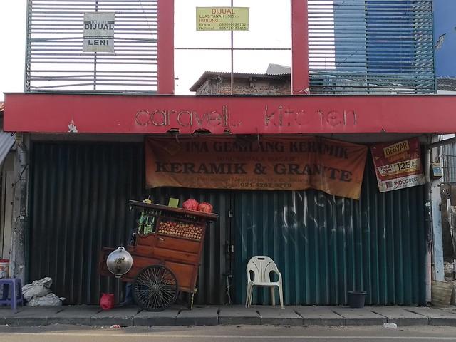 Nasi Goreng Gerobak Dorong Percetakan Negara, Foto Asli