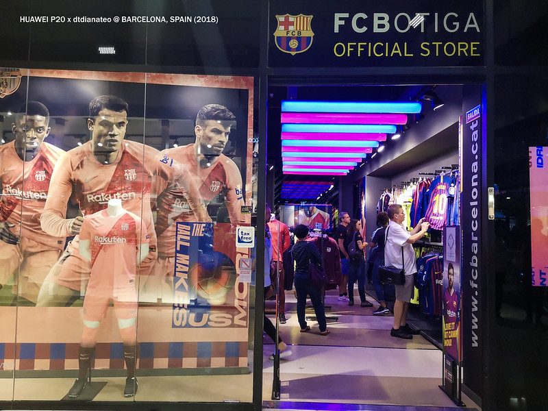 2018 Spain FC Barcelona Official Store-1